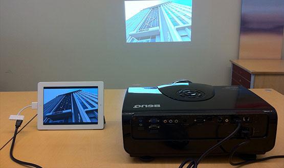 Como Conectar Tablet Telefono Smartphone A Un Video Proyector